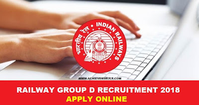 Railway Group D Recruitment 2018: 62,907 Vaccancies, Notification