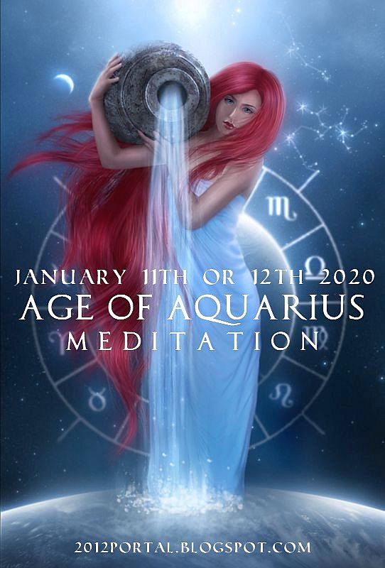 ЭРА ВОДОЛЕЯ 11 / 12 ЯНВАРЯ 2020 / Age of Aquarius (Russian Аудио-медитация) Aquar