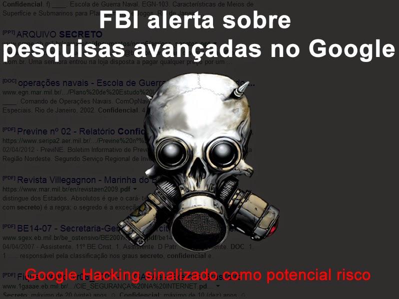 FBI alerta sobre pesquisas avançadas no Google