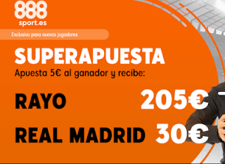 888sport superapuesta liga Rayo vs Real Madrid 28 abril 2019