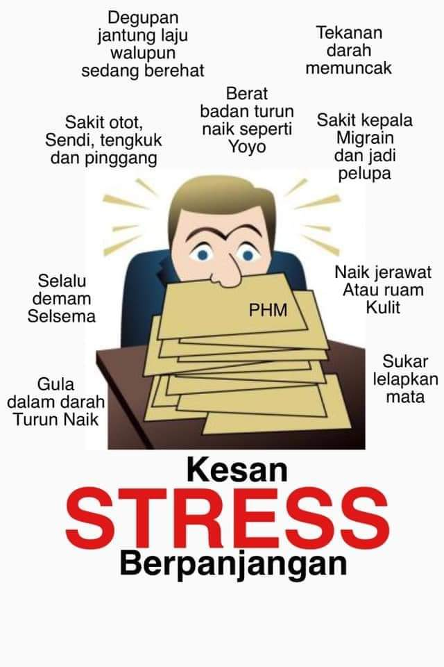 Kesan Jangka Panjang Bagi Orang Yang Stress