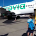 Bau badan pria sebabkan penumpang muntah, pesawat mendarat darurat