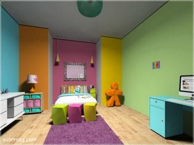 الوان دهانات - الوان دهانات غرف اطفال 1 | Paints Colors - Children's Room Paint Colors 1