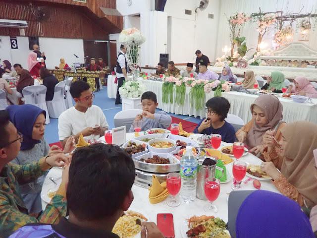 jamuan makan pernikahan di malaysia