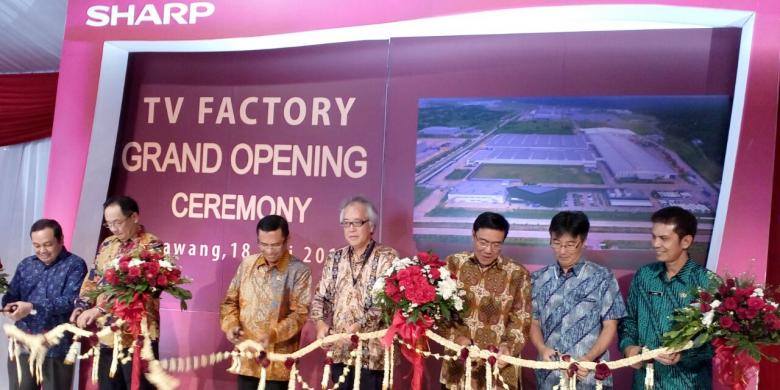 Lowongan Kerja Operator Produksi PT Sharp Electronics Indonesia KIIC Karawang