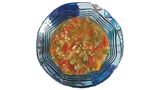 Recipe of healthy snack of mix veg soup for breakfast and snacks||