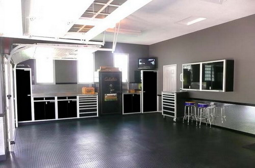 Some Innovative Ideas For Garage Interior Designs To