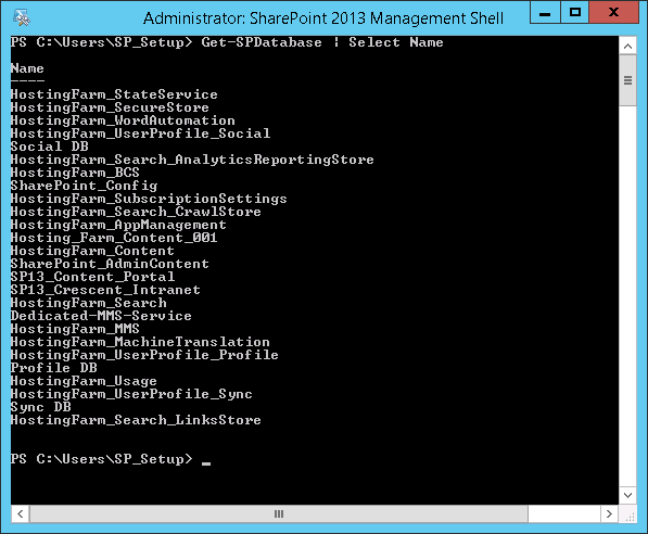 delete orphaned database sharepoint 2013