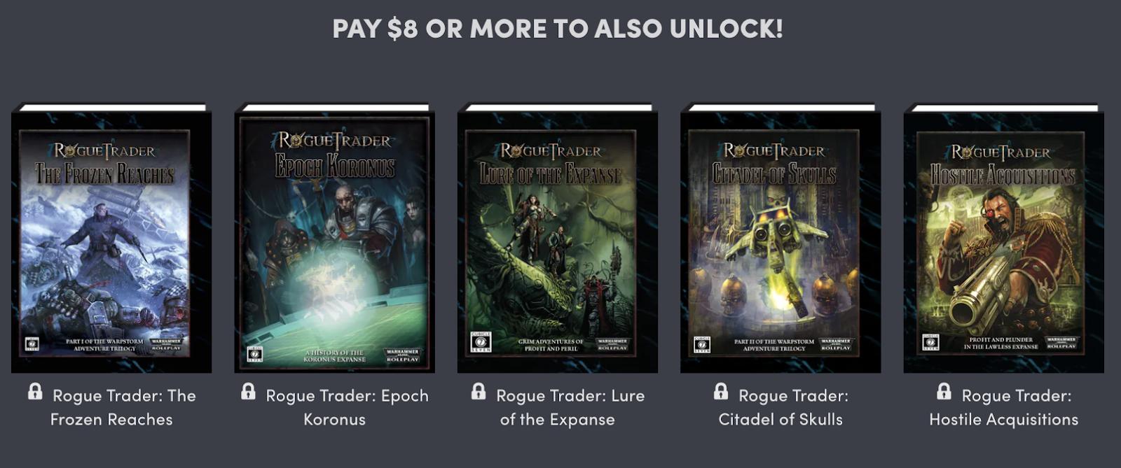 Tenkar's Tavern: Humble Bundle - Warhammer 40k Roleplay ... on