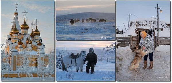 Bernard Grua, spectaculaire photos de Sibérie en hiver