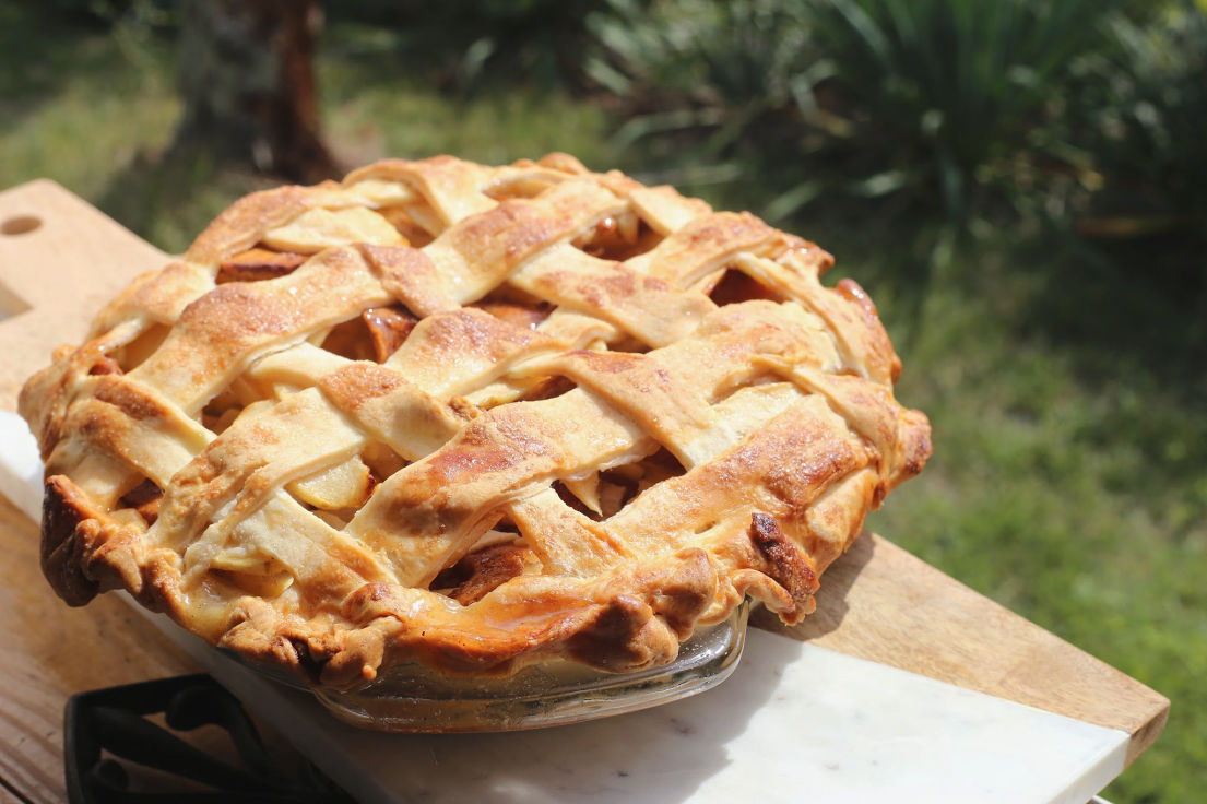 Triple Apple Pie recipe