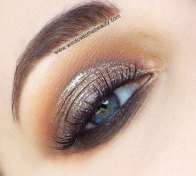 brown smoky makeup