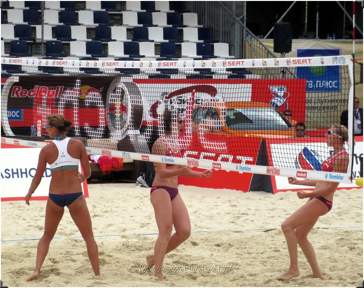 BEACH VOLLEYBALL WIN A POINT