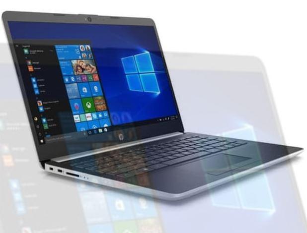 Harga Dan Spesifikasi Hp 14s Cf1046tu Laptop Murah Bertenaga Celeron Whiskey Lake