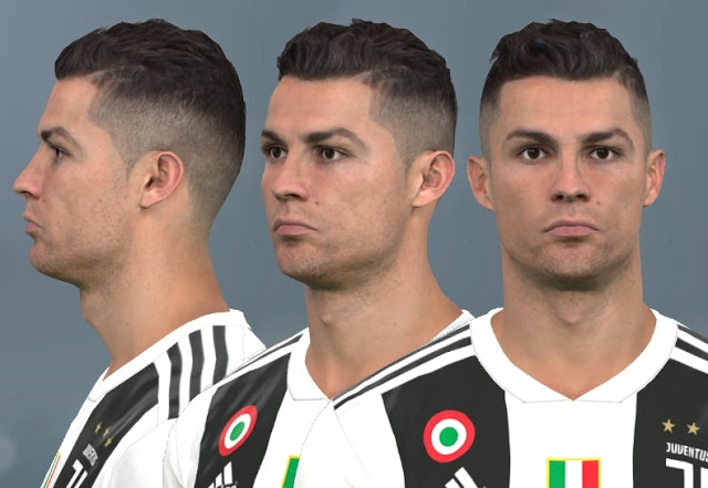 PES 2017 Cristiano Ronaldo New Face by WER Facemaker