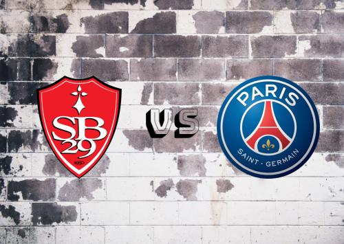 Brest vs PSG  Resumen y Partido Completo