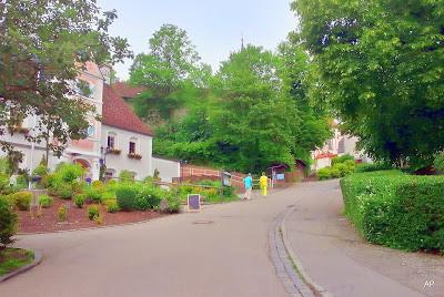 W drodze do klasztoru Andechs