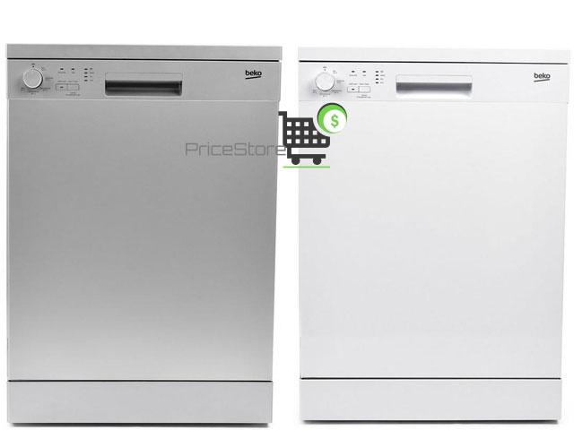 بيكو غسالة صحون 5 برامج فضي وابيض 12 فرد موديل  DFN05410