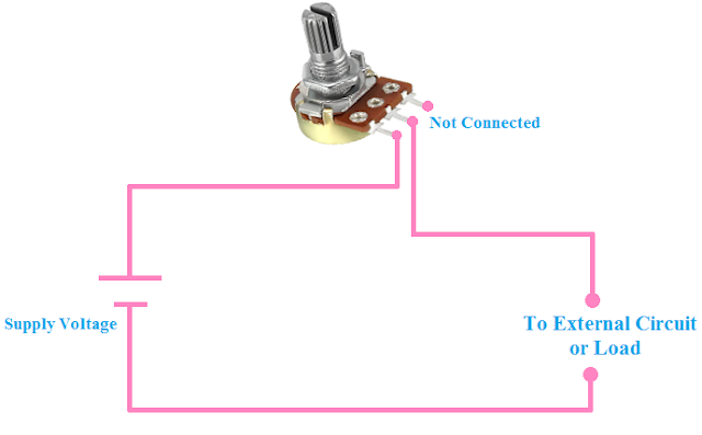 Rheostat connection