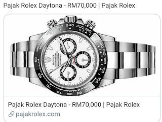Pajak Rolex (Pawn Rolex ) Daytona - RM70,000