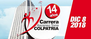 Carrera Ascenso Torre Colpatria 2018 Bogotá