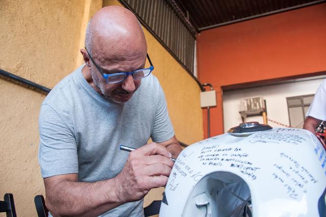 Luiz Mingione também deixou suas marcas no Motos Clássicas 80