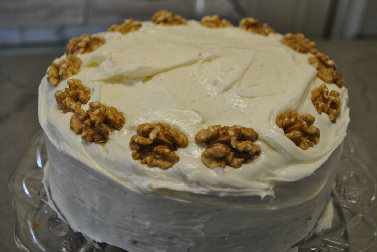 Sheila Lukins Carrot Cake