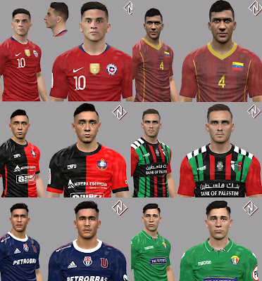 PES 2017 Facepack December 2019 Vol 1 by Nahue