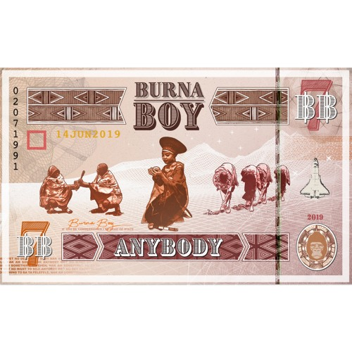 "[MP3 + MP4] Burna Boy - ""Anybody"""