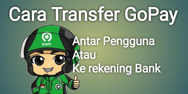 Cara transfer Gopay