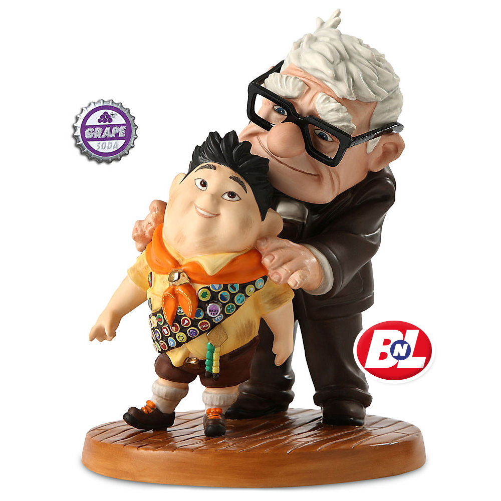 Welcome On Buy N Large Up Carl Amp Russell Figurine Walt