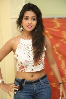 Deekshita Parvathi in a short crop top and Denim Jeans Spicy Pics Beautiful Actress Deekshita Parvathi January 2017 CelebxNext (66).JPG