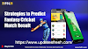 Strategies to Predict Fantasy Cricket Match Result