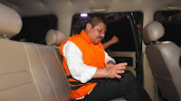 Terbukti Korupsi, Bupati Bengkalis Amril Mukminin Dieksekusi KPK