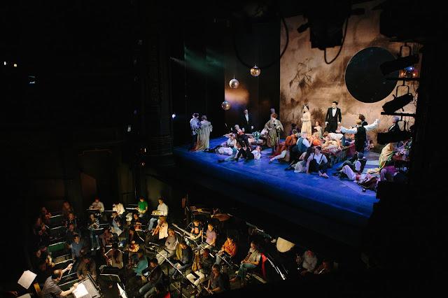 La traviata rehearsals at Leeds Grand Theatre (2014) (Photo Tom Arber)