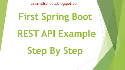 Building First Spring Boot REST API Application (Hello World Example)