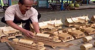 peluang usaha dari kerajianan bambu yang menjanjikan
