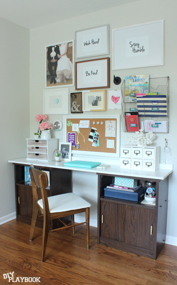 Office Gallery Wall Artwork: Free Printables! | DIY Playbook
