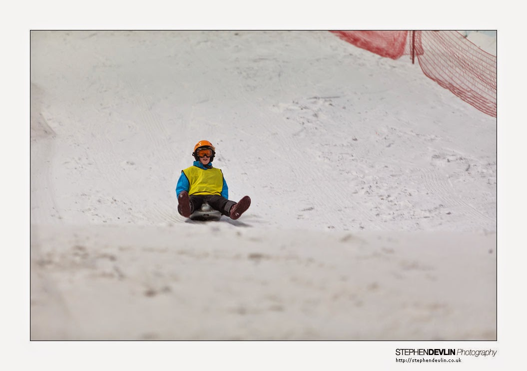 Chill Factore Manchester extreme sledging