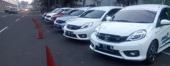 Awak Media Jawa Barat Jajal Honda Brio RS Di Bandung