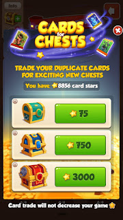 Trade Your Duplicate Cards For Exciting Spins