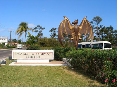 Bacardi Bus Stop Bat
