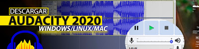 Como Descargar Audacity Ultima Version 2020 FULL ESPAÑOL