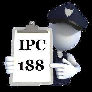 Indian Penal Code IPC-188