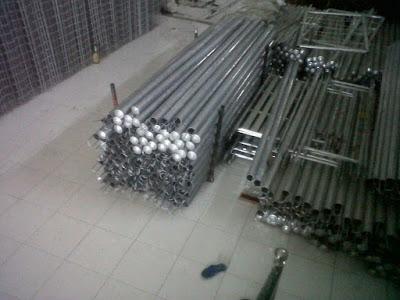 Distributor Tiang Pagar BRC Galvanis Jakarta