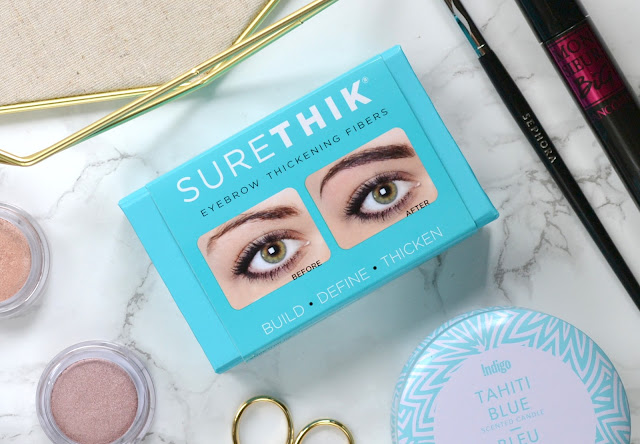 SureThik Eyebrow Thickening Fibers Review