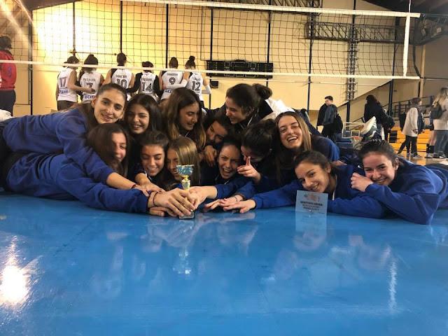 Την 3η θέση στο final 4 κατέκτησαν τα κορίτσια της Αλκυών Ναυπλίου