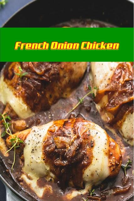 #French #Onion #Chicken