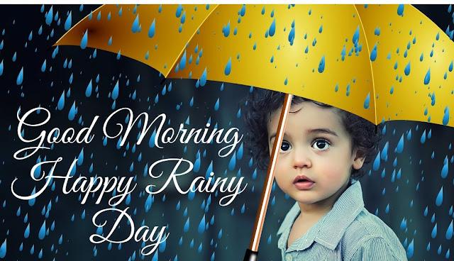 Good Morning Rainy Day Image wish
