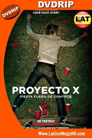 Proyecto X (2012) Latino DVDRip ()
